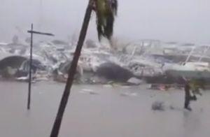 Ouragan Irma : La terrible angoisse d'Alessandra Sublet et du couple Hallyday