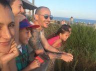 Chester Bennington : Tout sourire en famille, quelques jours avant son suicide