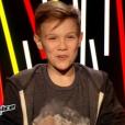 Equipe Patrick Fiori - Lenni-Kim (13 ans)     -        The Voice kids     , émission du 16 octobre 2015 sur TF1.
