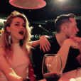 """Amber Heard et Elon Musk officialisent leur relation en posant ensemble sur Instagram le 23 avril 2017"""