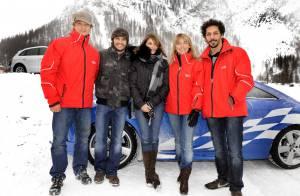 Bixente Lizarazu et Barbara Schulz  : entre eux, la glace est brisée !