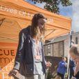 """Le prince William, duc de Cambridge, en visite au """"Mersey Care NHS Foundation Trust's Life Rooms"""" à Liverpool le 14 septembre 2017"""