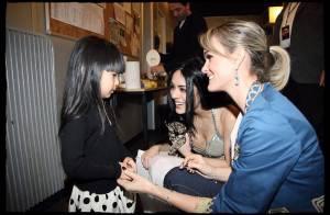 Quand Laeticia Hallyday et Jade assistent au spectacle Cléopâtre... et admirent Sofia !