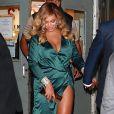 Jay-Z et sa femme Beyonce à la sortie de la 3ème soirée caritative annuelle Diamond Ball à Cipriani Wall Street à New York.