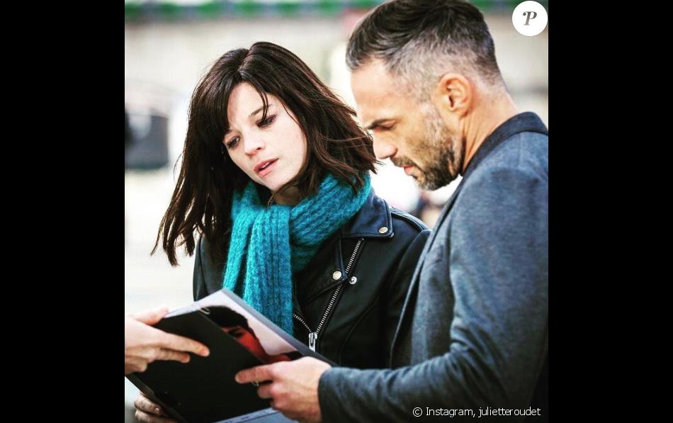 """Juliette Roudet et Philippe Bas dans """"Profilage"""" sur TF1."""