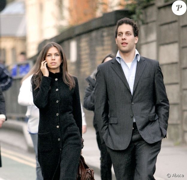 Lord Frederick Windsor et sa future épouse, Sophie Winkleman