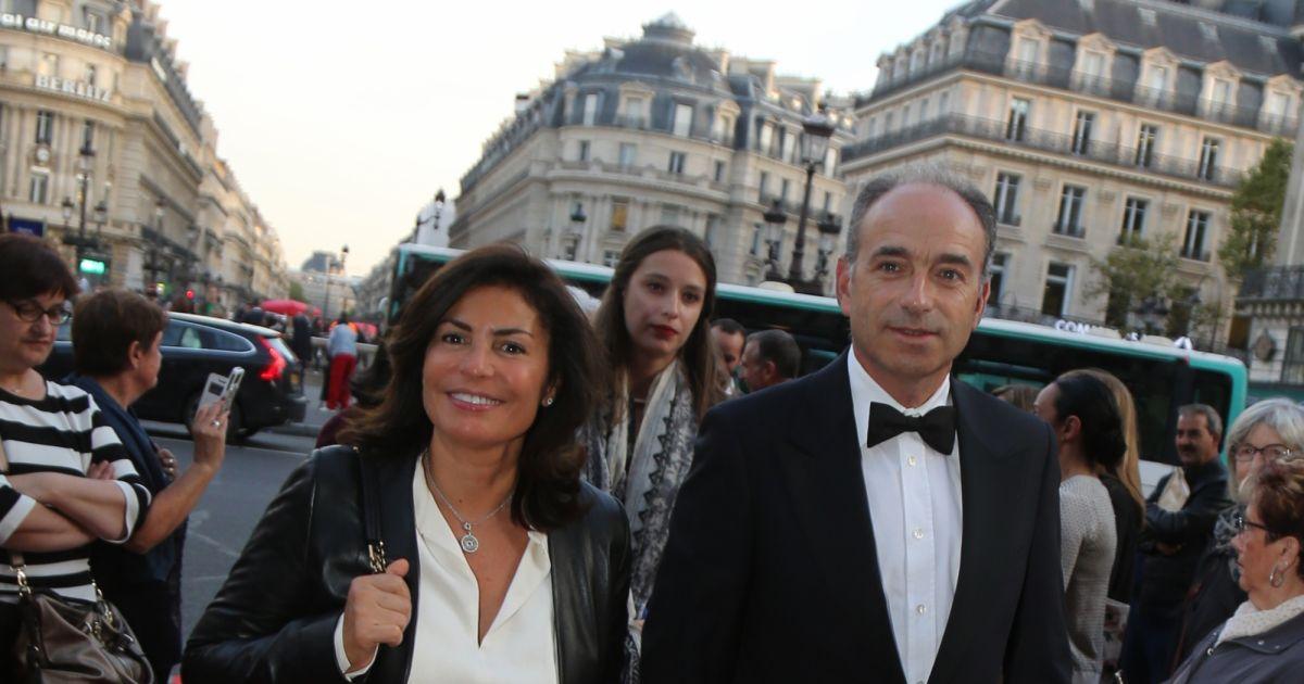 Jean fran ois cop et sa femme nadia arriv e au gala d 39 ouverture de la saison de danse 2017 - Jean francois balmer et sa femme ...