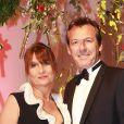 Semi- Exclusif - Jean-Luc Reichmann et sa femme Nathalie - Gala du 75e Grand Prix de Monaco le 28 mai 2017. © Claudia Albuquerque/Bestimage