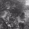 Zahia Dehar pose lors de ses vacances en Corse. Instagram, le 6 août 2017.