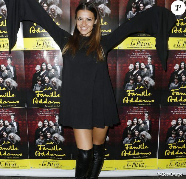 """Denitsa Ikonomova - Première de la comédie musicale """"La Famille Addams"""" au théâtre Palace à Paris le 27 septembre 2017. © Marc Ausset- Lacroix / Bestimage"""