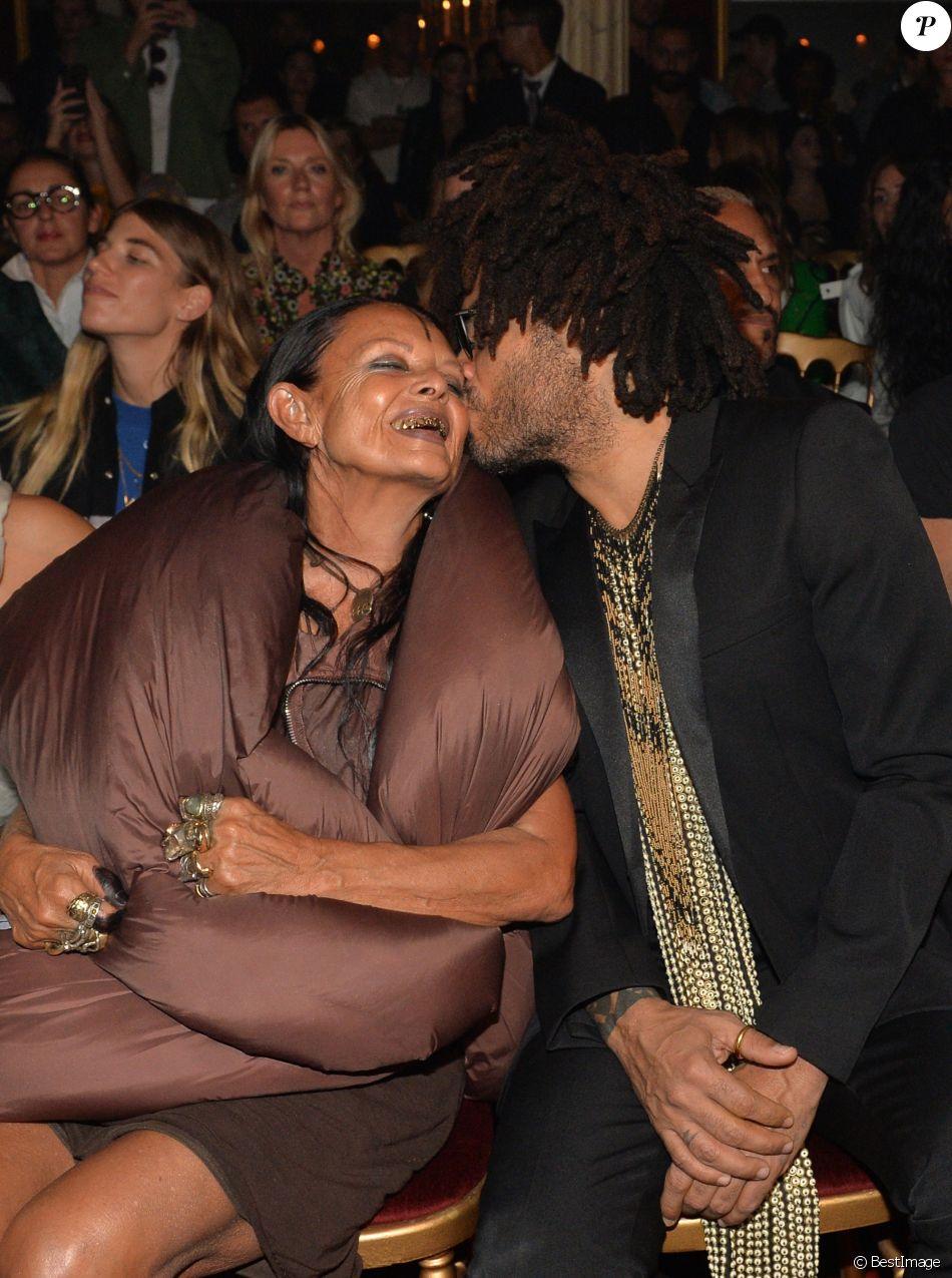 Michèle Lamy et Lenny Kravitz