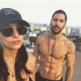 """""""Jade LeBoeuf a publié une photo d'elle avec son chéri Stephane Rodrigues sur sa page Instagram en février 2017"""""""