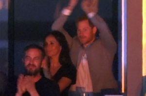 Prince Harry et Meghan Markle, amoureux et réunis en famille aux Invictus Games