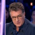 """François Cluzet sur le plateau de l'émission """"On n'est pas couché"""", diffusée le samedi 30 septembre 2017"""