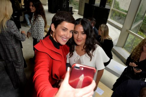 "Cristina Cordula : Modeuse ""dans le thème"" de la Fashion Week"