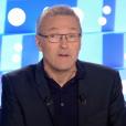 """""""Laurent Ruquier prend la parole suite à l'affaire Christine Angot - Sandrine Rousseau. Emission """"On n'est pas couché"""" sur France 2. Le 7 octobre 2017."""""""