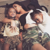 Kim Kardashian : Maman sexy avec North et Saint West