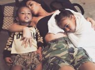 Kim Kardashian : Maman sexy avec North et Saint West