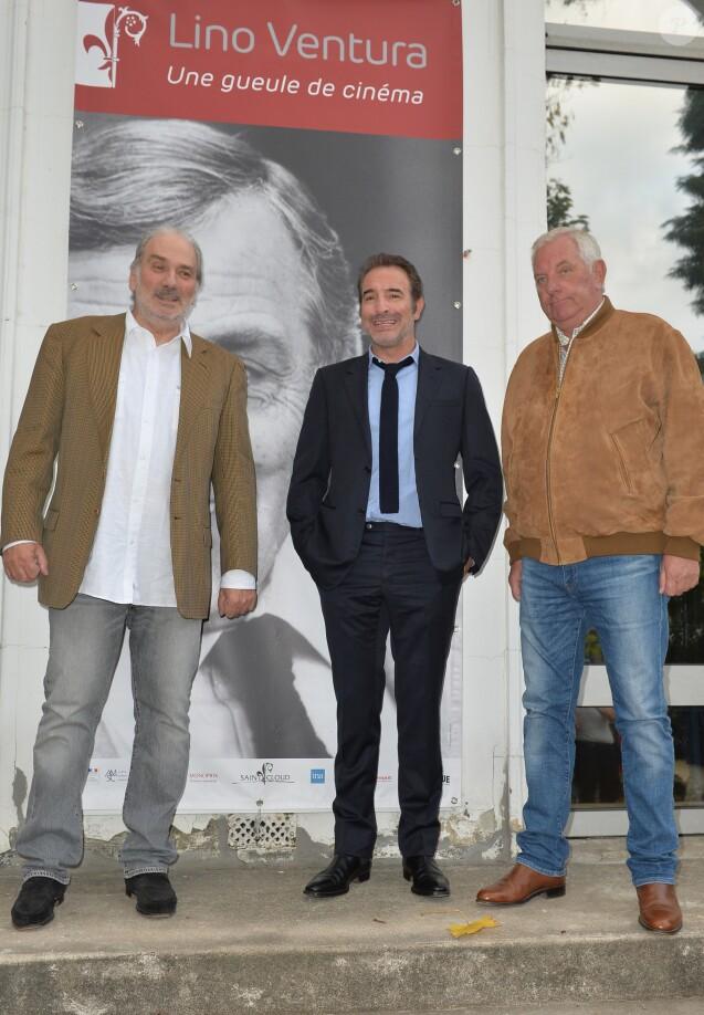 Jean dujardin son hommage lino ventura avec son fils for Dujardin saint cloud