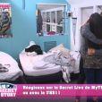 """Alain et Laura se câlinent - """"Secret Story 11"""", jeudi 12 octobre 2017, NT1"""