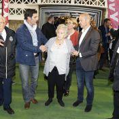 Bernadette Chirac, rarissime, de sortie pour ses footballeurs préférés