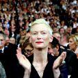 Tilda Swinton - Cérémonie d'ouverture du Festival Lumière 2017 au cours de laquelle Eddy Mitchell a reçu un hommage à Lyon, le 14 Octobre 2017 © Dominique Jacovides/Bestimage