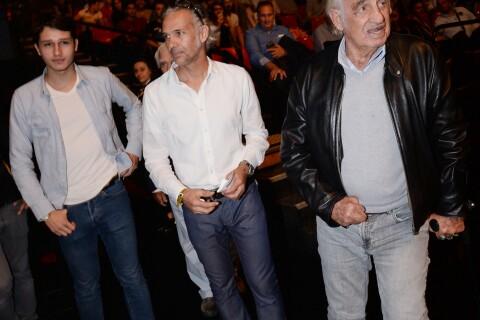 Tony Yoka acclamé par Jean-Paul Belmondo en famille et sa chérie Estelle Mossely