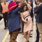 Kate Middleton : Enceinte, la duchesse se déhanche joyeusement en pleine gare !
