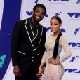 Keyshia Ka'Oir et Gucci Mane aux MTV Video Music Awards 2017 à Inglewood, Californie, le 27 août 2017.