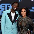 Gucci Mane et Keyshia Ka'Oir aux BET Awards 2017 à Los Angeles, le 25 juin 2017.