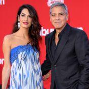 """George Clooney, papa moqueur et gaga : """"Alexander est un voyou, un petit gros"""""""