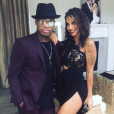Ne-Yo et sa fiancée Crystal Smith. Octobre 2017.