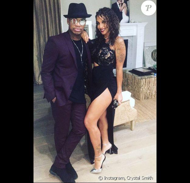Ne-Yo et sa fiancée Crystal Smith. Octobre 2017.