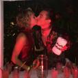 """""""Jazmin Grace Grimaldi et son compagnon le musicien Ian Mellencamp lors de la Saint-Valentin le 14 février 2017"""""""