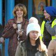 """Blake Lively sur le tournage du film """"The Rhythm Section"""" à Dublin, le 5 novembre 2017"""