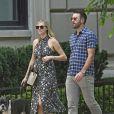 Exclusif - Kate Upton et son fiancé Justin Verlander à New York, le 2août 2017.