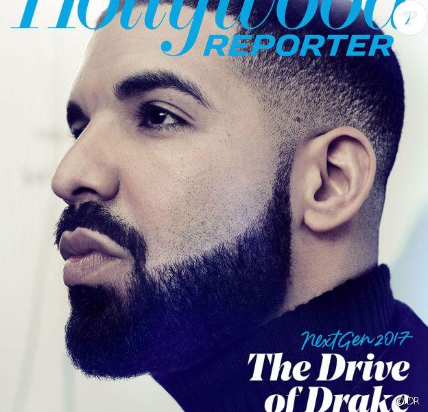 "Drake en couverture du magazine ""The Hollywood Reporter"". Photo par Ruven Afanador."