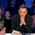 """""""On n'est pas couché, le 11 novembre 2017 sur France 2. Ici Christine Angot et Yann Moix."""""""