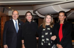 Caroline, Albert et Stéphanie de Monaco avec sa fille Camille réunis pour Grace