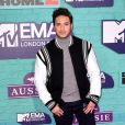 Jonas Blue sur le tapis rouge des MTV Europe Music Awards 2017 au SSE Arena, Londres, le 12 novembre 2017.