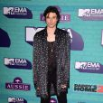 James Bay sur le tapis rouge des MTV Europe Music Awards 2017 au SSE Arena, Londres, le 12 novembre 2017.