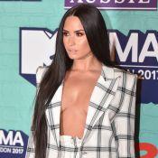 Demi Lovato, audacieuse, fait l'impasse sur le soutien-gorge aux MTV EMA