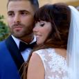 """Mariage de Charlène et Florian dans """"Mariés au premier regard"""" sur M6. Le 13 novembre 2017."""