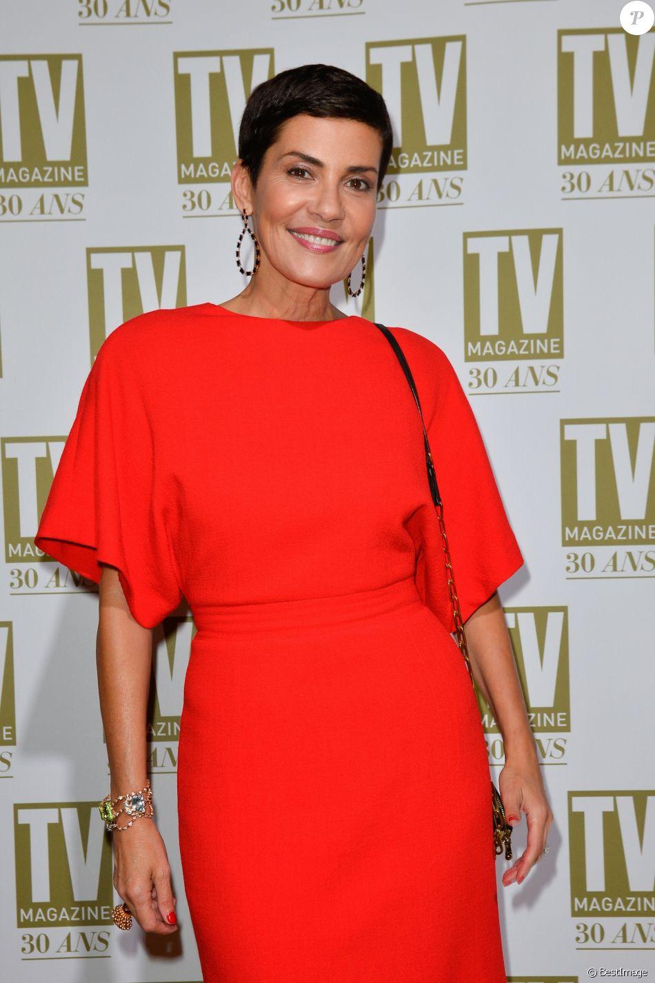 Exclusif - Cristina Cordula - Soirée d'anniversaire des 30 ans de TV Magazine au Pavillon des Champs-Elysées à Paris le 17 octobre 2017. © Coadic Guirec/Bestimage