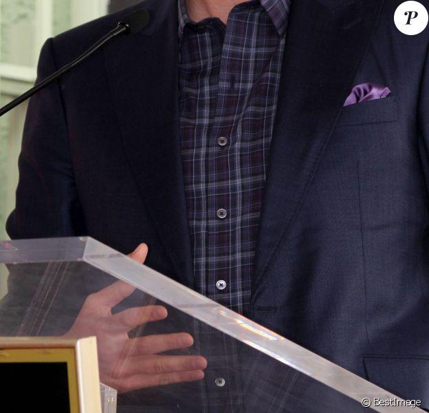 Blake Shelton - Adam Levine reçoit son étoile sur le Walk of Fame à Hollywood, le 10 février 2017
