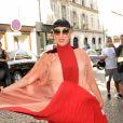 """Rossy de Palma - Arrivées au défilé de mode """" Valentino """", collection Haute-Couture automne-hiver 2017/2018, à Paris. Le 5 juillet 2017 © CVS - Veeren / Bestimage"""