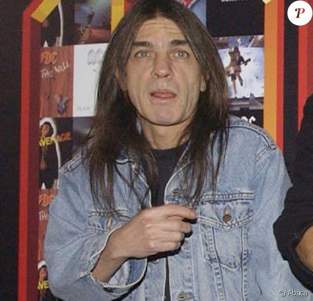 Malcolm Young, ici en 2003, est mort à l'âge de 64 ans.