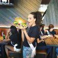 Alicia Aylies à Las Vegas pour Miss Univers 2017, Instagram, novembre 2017