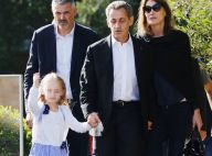 "Carla Bruni-Sarkozy : Première leçon de poney pour sa ""princesse"" Giulia"