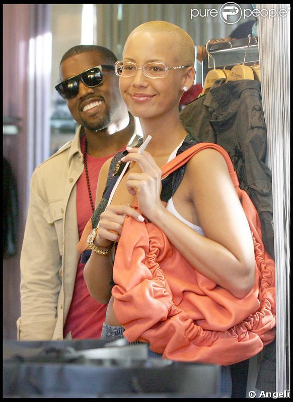 Kanye west sa nouvelle compagne l 39 a d j bien dans la peau regardez - Divorce shoppe ...